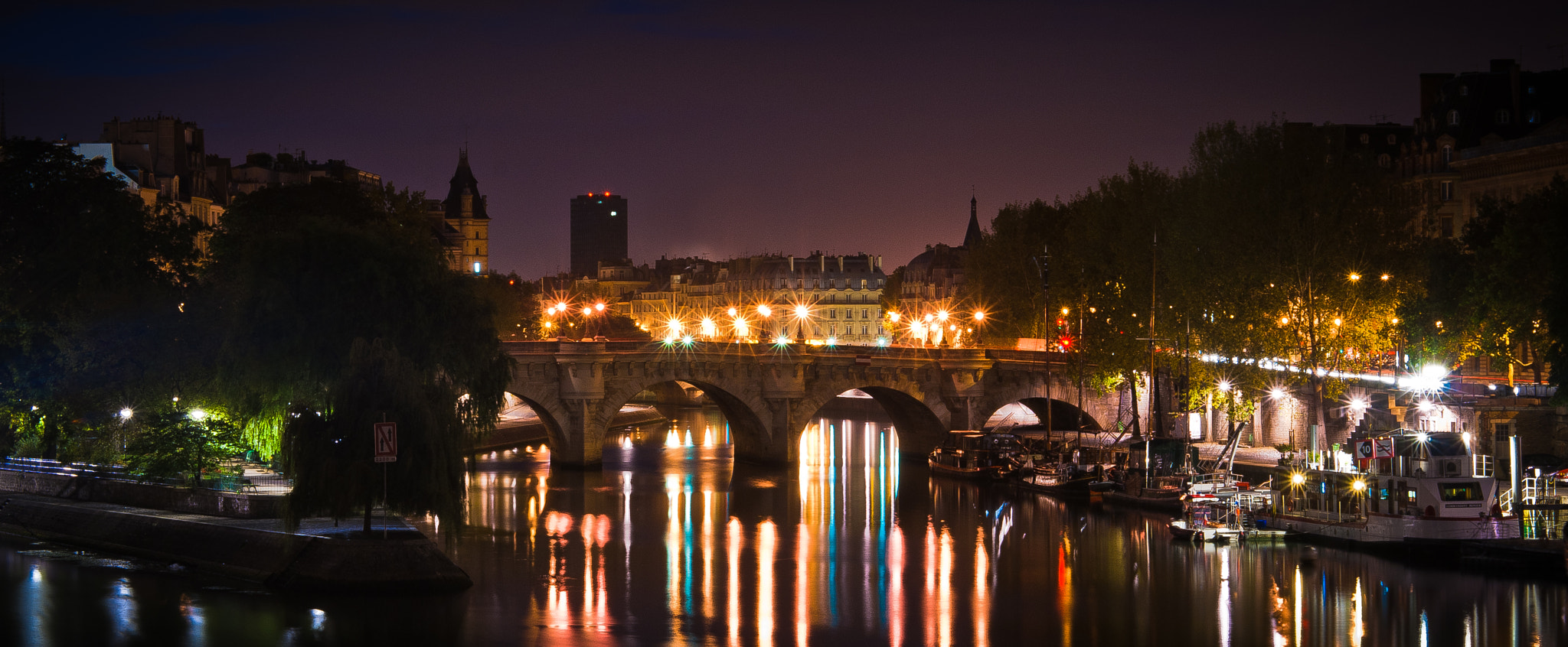 Photograph Pont des arts et la pointe de l'île Saint-Louis - Paris by Jürgen GOLDHORN aka MKZ One-Shoot on 500px