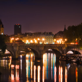 Pont des arts et la pointe de l'île Saint-Louis - Paris by Jürgen GOLDHORN (MKZ-One-Shoot)) on 500px.com