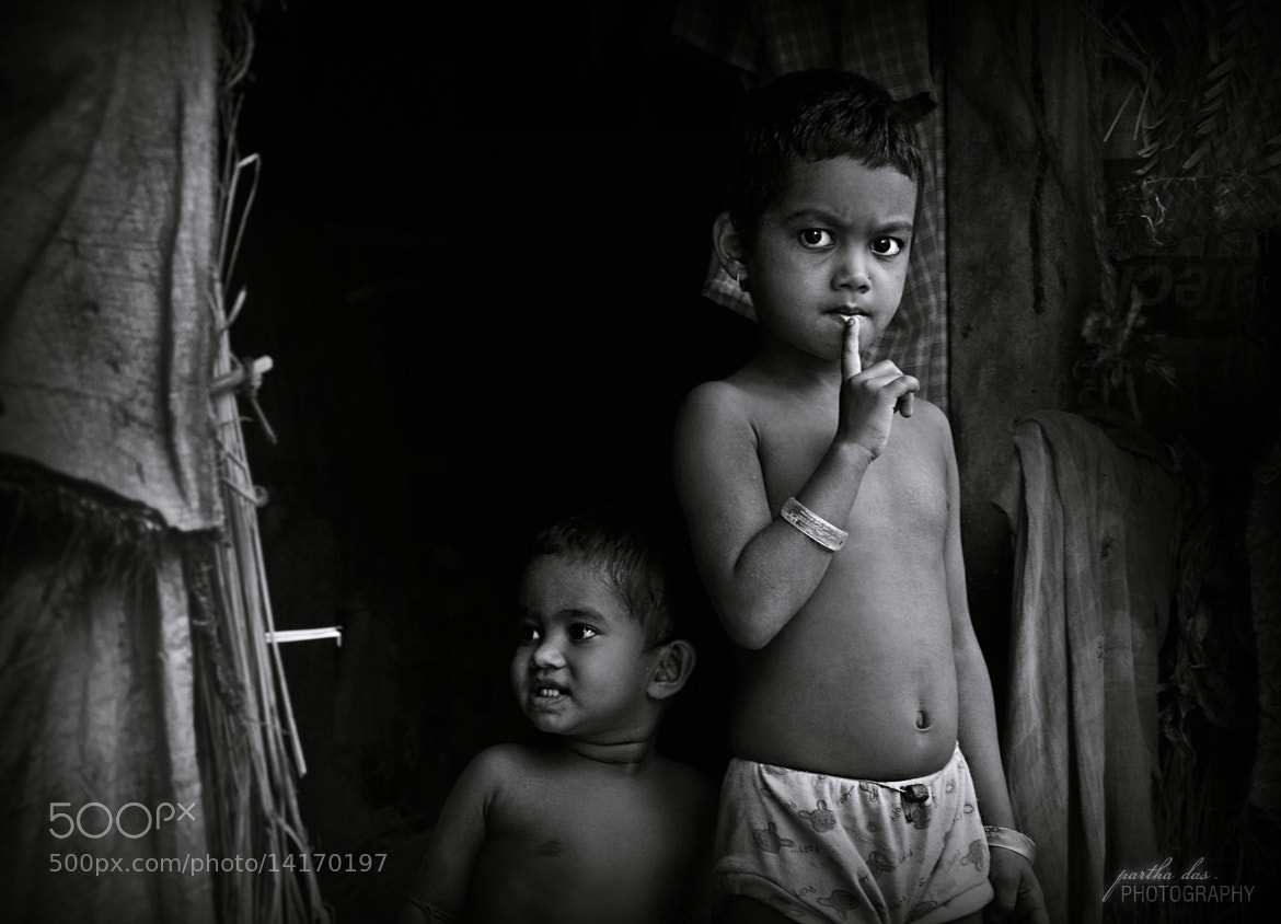 Photograph little thinkers... by Partha Das on 500px