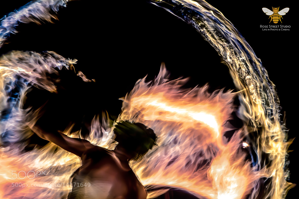 Photograph Fire dancer by jason hogan on 500px