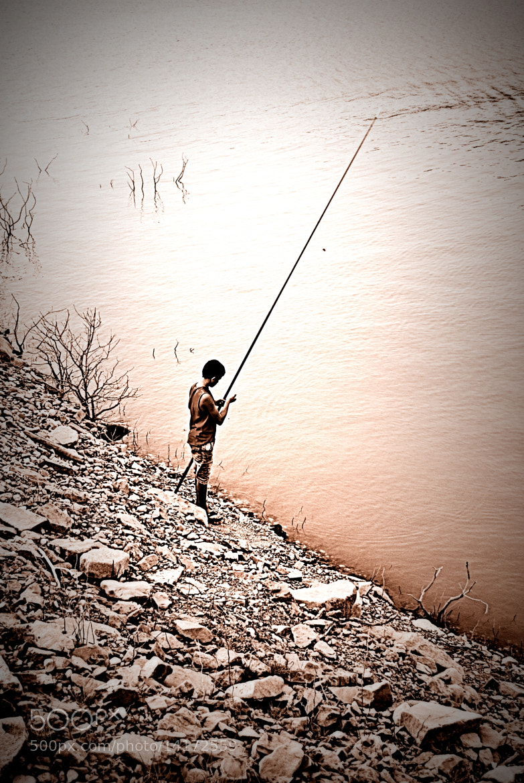 Photograph little fisherman by Vula Tsira on 500px