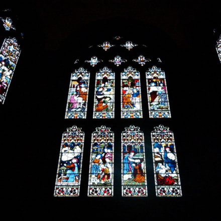 Stained Glass Window, Nikon D1H