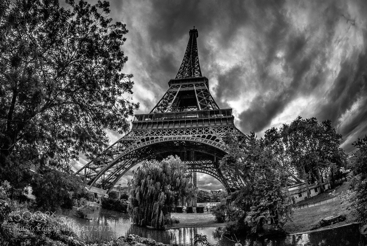 Photograph Eiffel drama...  by Jürgen GOLDHORN on 500px