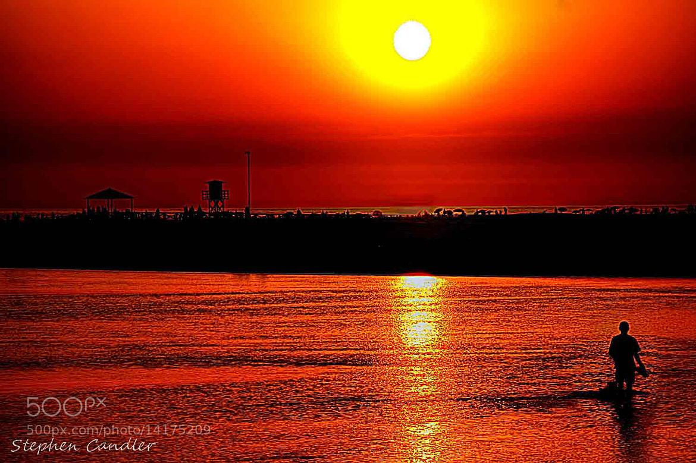 Photograph Sundown On The Beach by Stephen Candler-Photography on 500px
