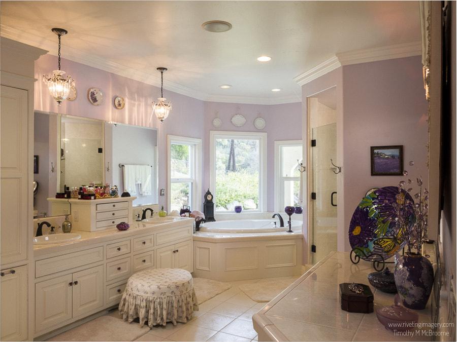 Master Bath - Real Estate Photography Tim McBroome Redding Shasta County California
