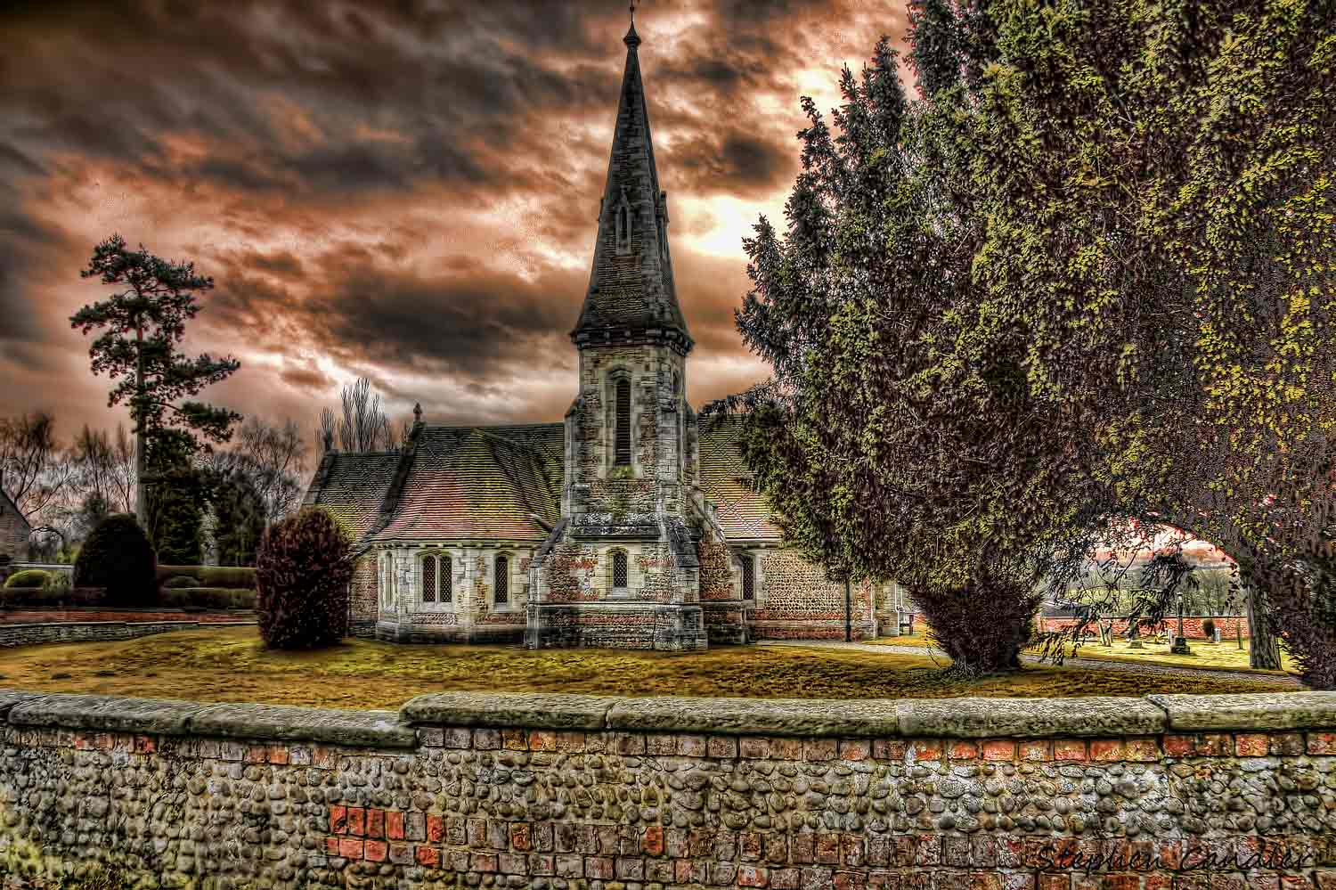 Photograph Aldwark Church by Stephen Candler-Photography on 500px