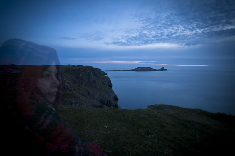 Photograph Cai at Worms Head, Rhossili by Simon Craig on 500px
