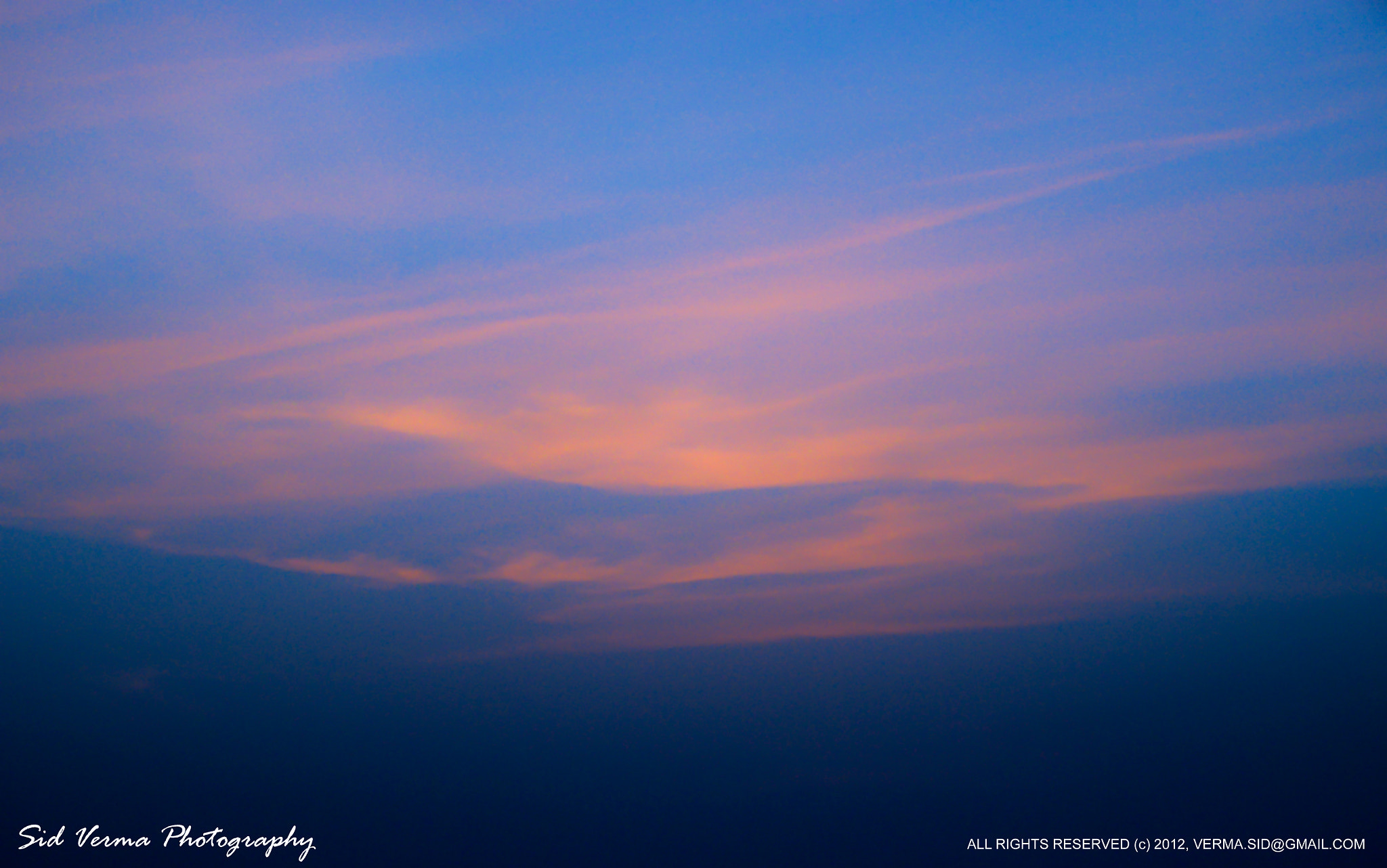 Photograph Sunset Clouds by Sid Verma on 500px