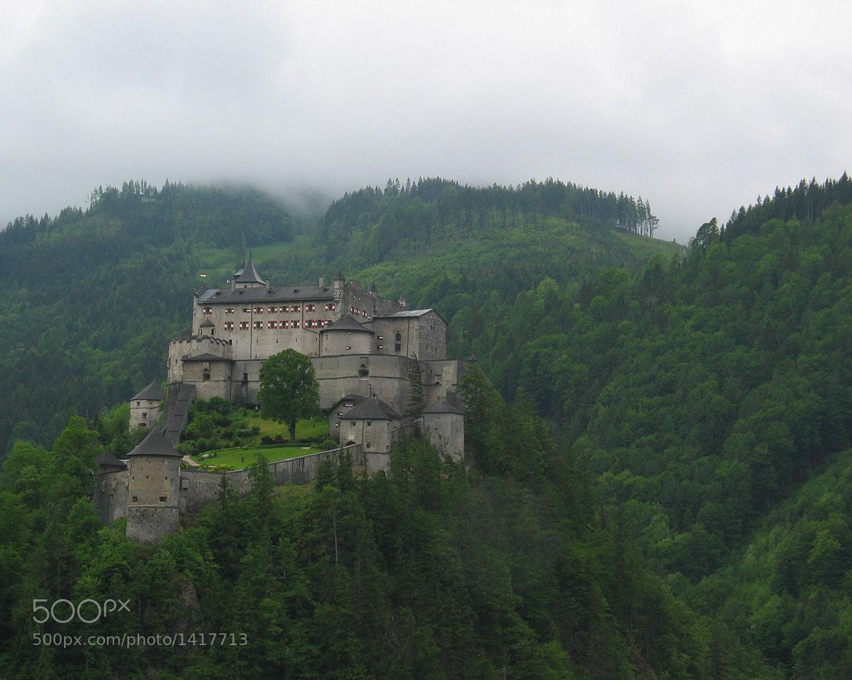 Photograph Castle in the Clouds by Nicholas de Wolff on 500px
