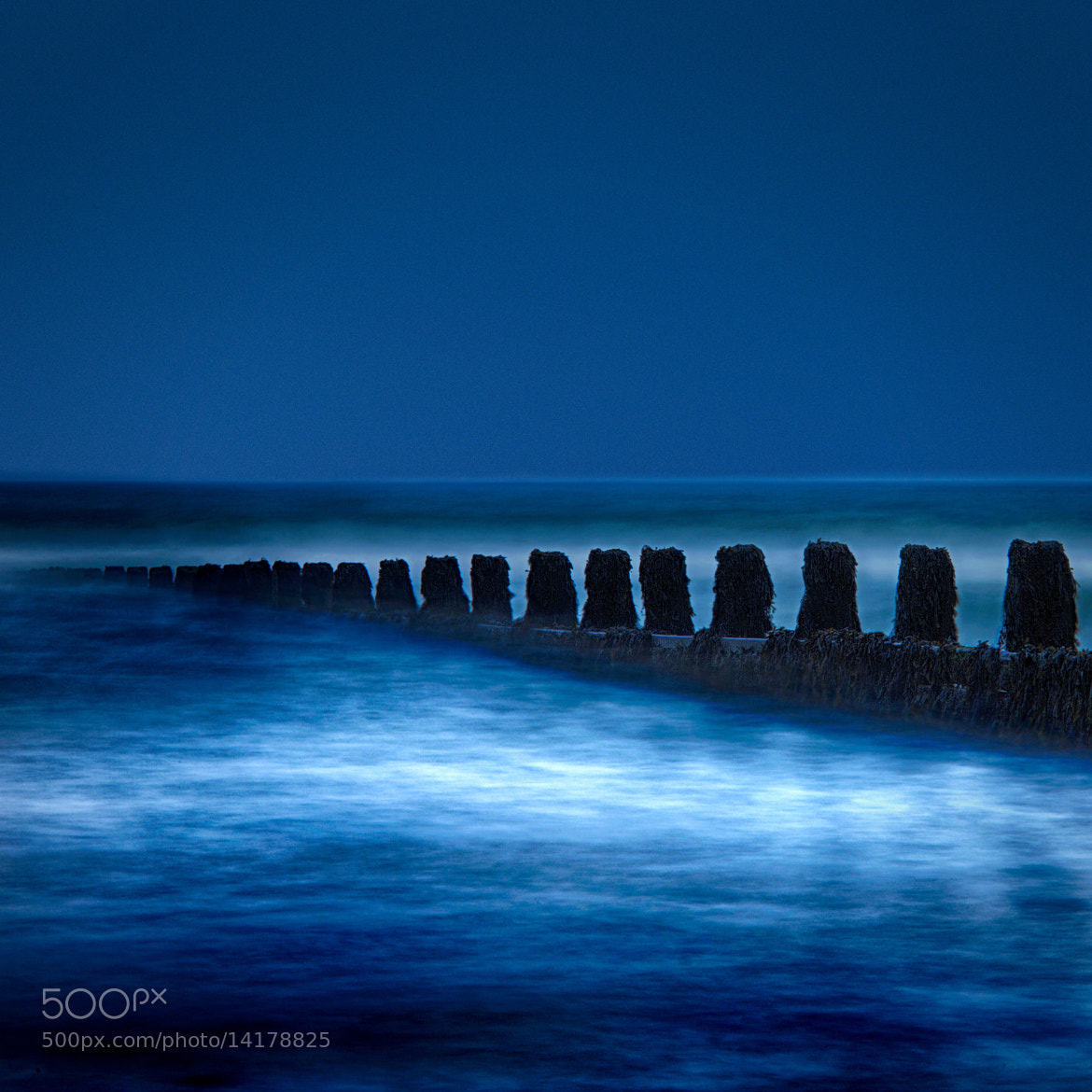 Photograph Today My Sea Is Blue by Mark  Farquharson on 500px
