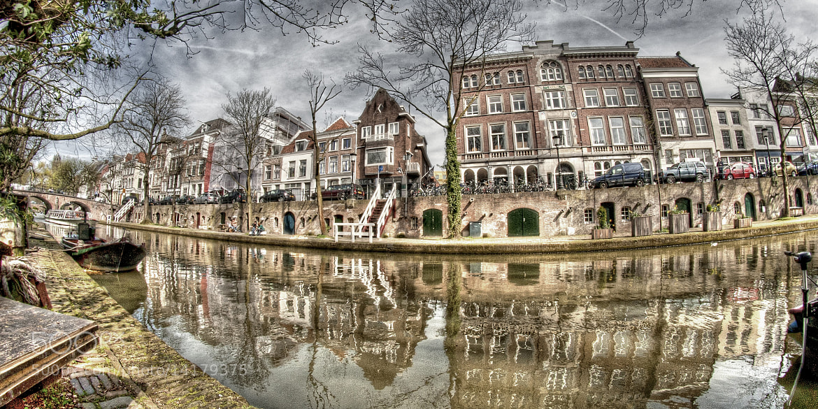 Photograph Utrecht FX Oudegracht by Martien Janssen on 500px