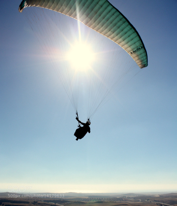 Photograph Paraglider by Tom Flynn on 500px