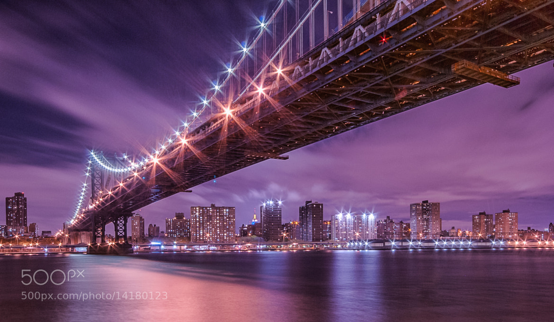 Photograph Manhattan Bridge by WilsonAxpe /  Scott Wilson on 500px