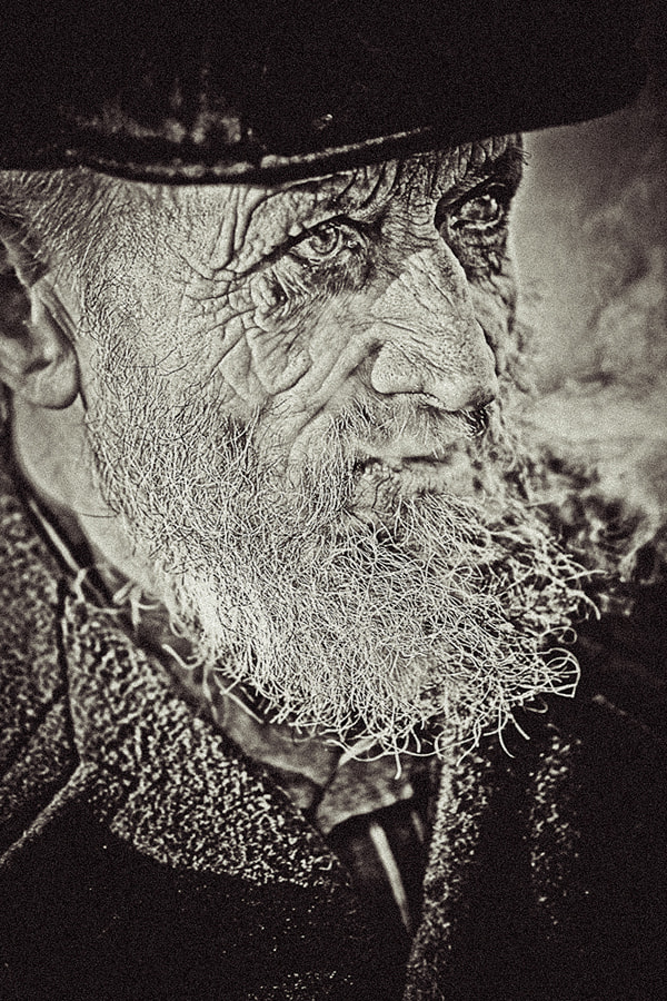 Photograph Grandfather by Druvo Art on 500px