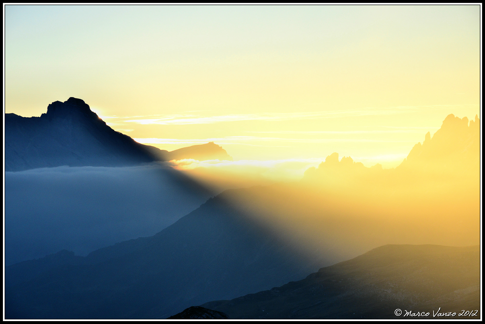 Photograph First sunlight  Dolomiti by Marco Vanzo on 500px