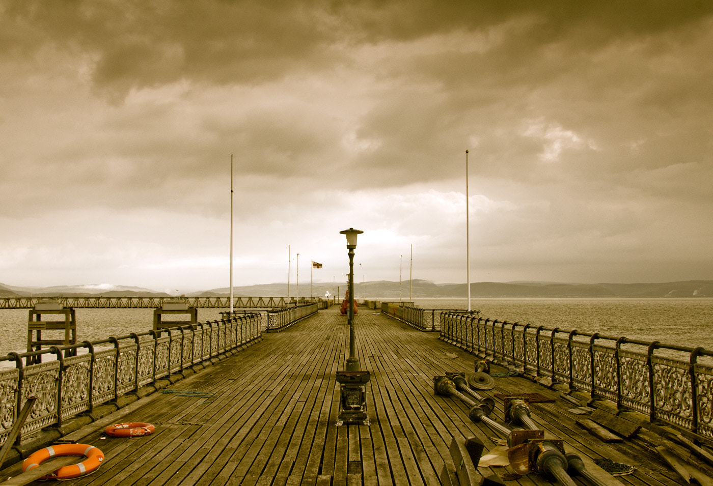 Photograph The Old Pier by Tony Oliver on 500px