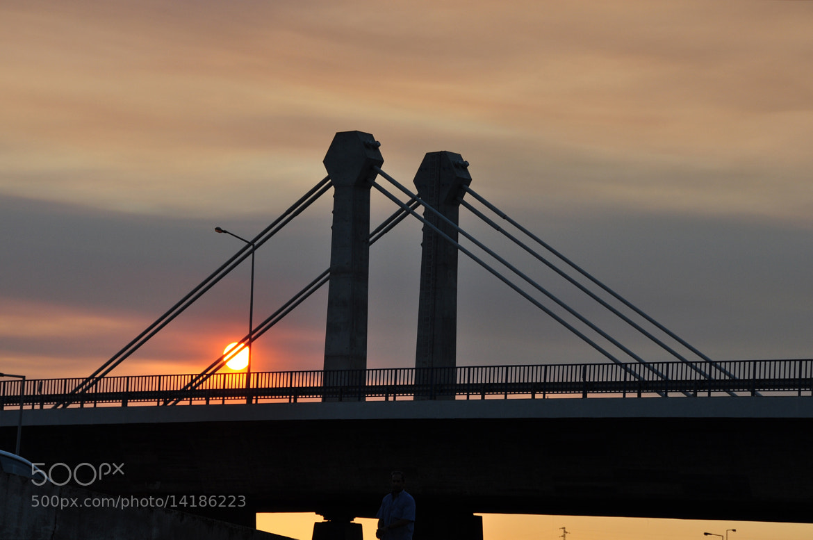 Photograph Atardecer en el puente by Mercedes Salvador on 500px