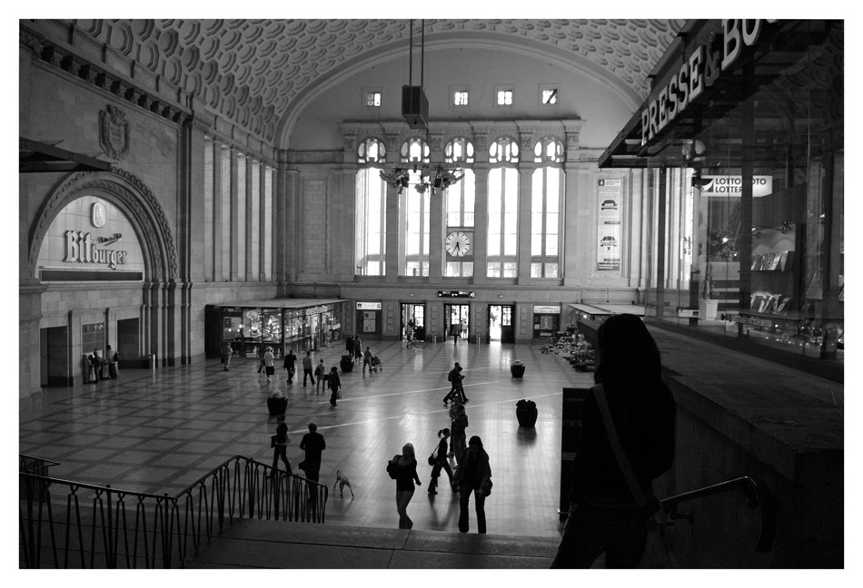 Photograph 5:35 p.m. LEIPZIG CENTRAL STATION/ Germany by Andreas Schmidt on 500px