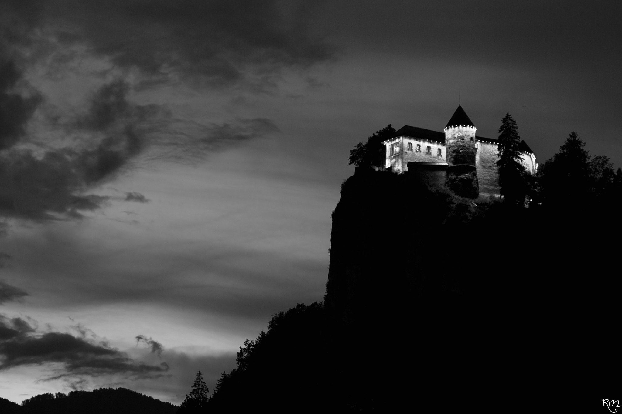 Photograph Bled Castle by Marco 2k7 on 500px
