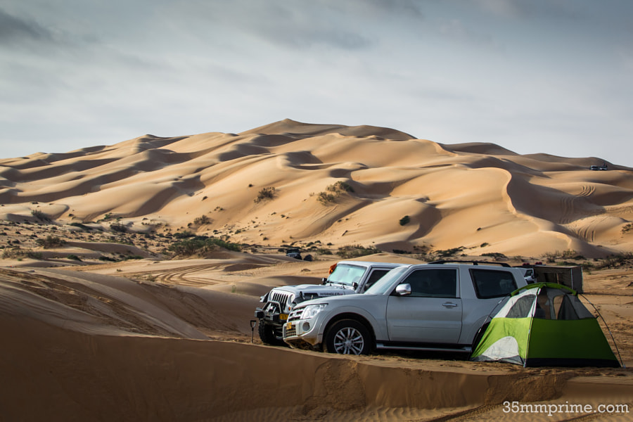 Camping in Wahiba Sands Desert