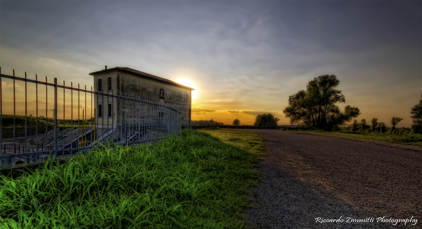 Photograph Sunset in the Po Valley by Riccardo Zimmitti on 500px