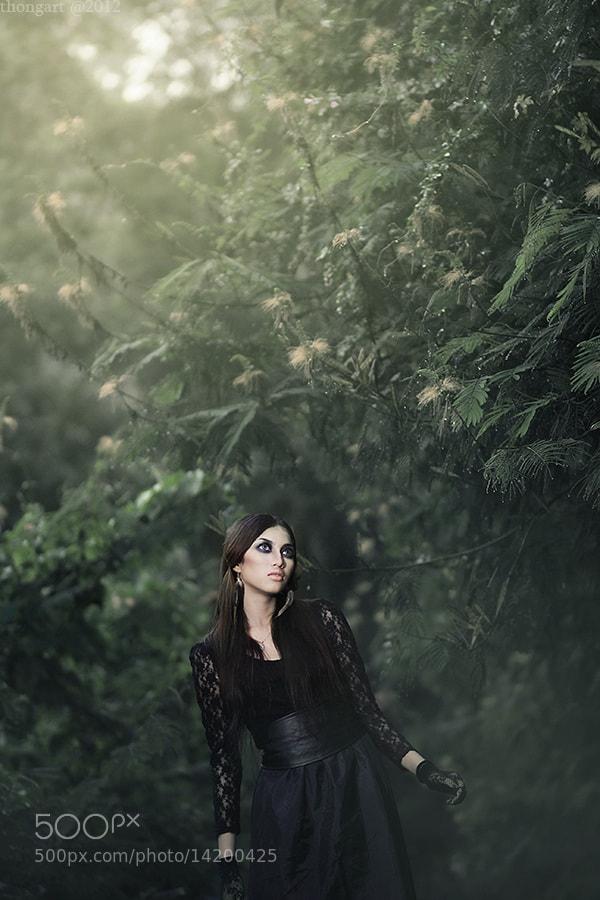 Photograph #DarkForestQueen V by thong art on 500px