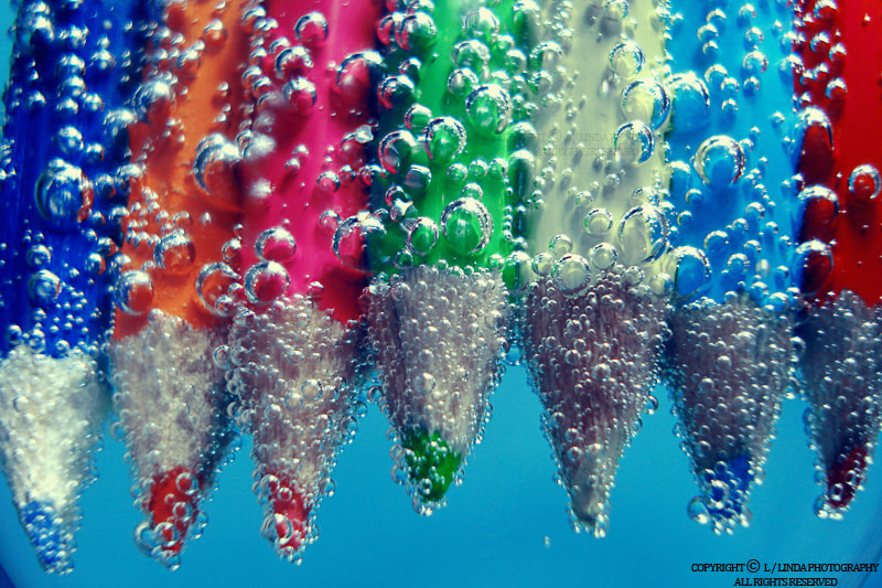 Photograph Bubble Pencils by Linda photography on 500px