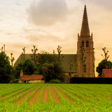Church near Beauvoorde