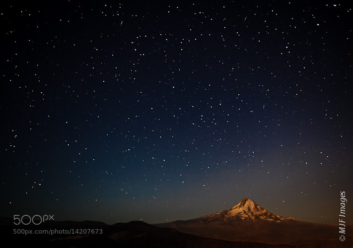 Photograph Hood under the Stars by Michael Flaherty on 500px
