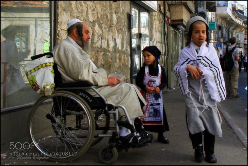 Photograph Purim in Mea-Shearim by Marina Belyakov on 500px