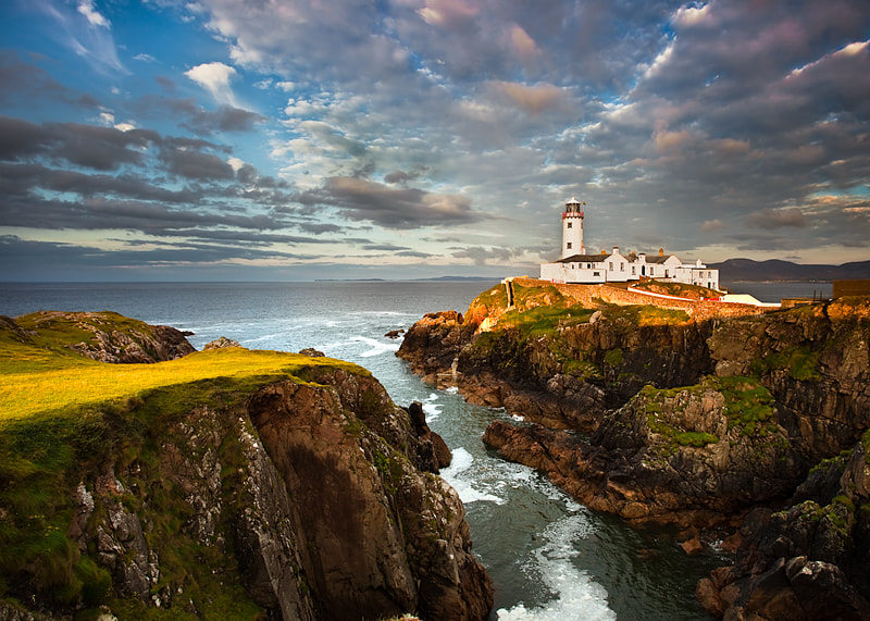 Photograph Fanad In Evening Light by Derek Smyth on 500px