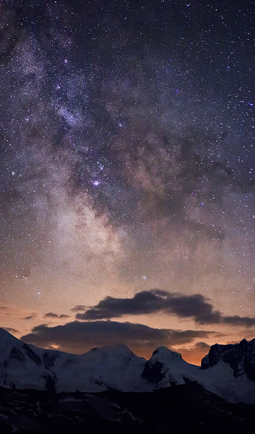 Photograph Castor&Pollux, Milky Way by Gilles Monney on 500px