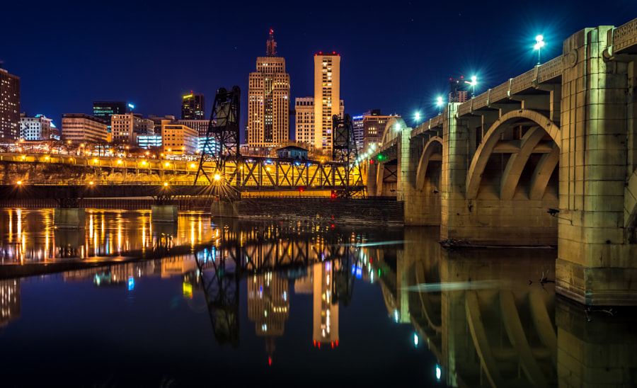 St Paul skyline at night by Lavin Photography on 500px.com