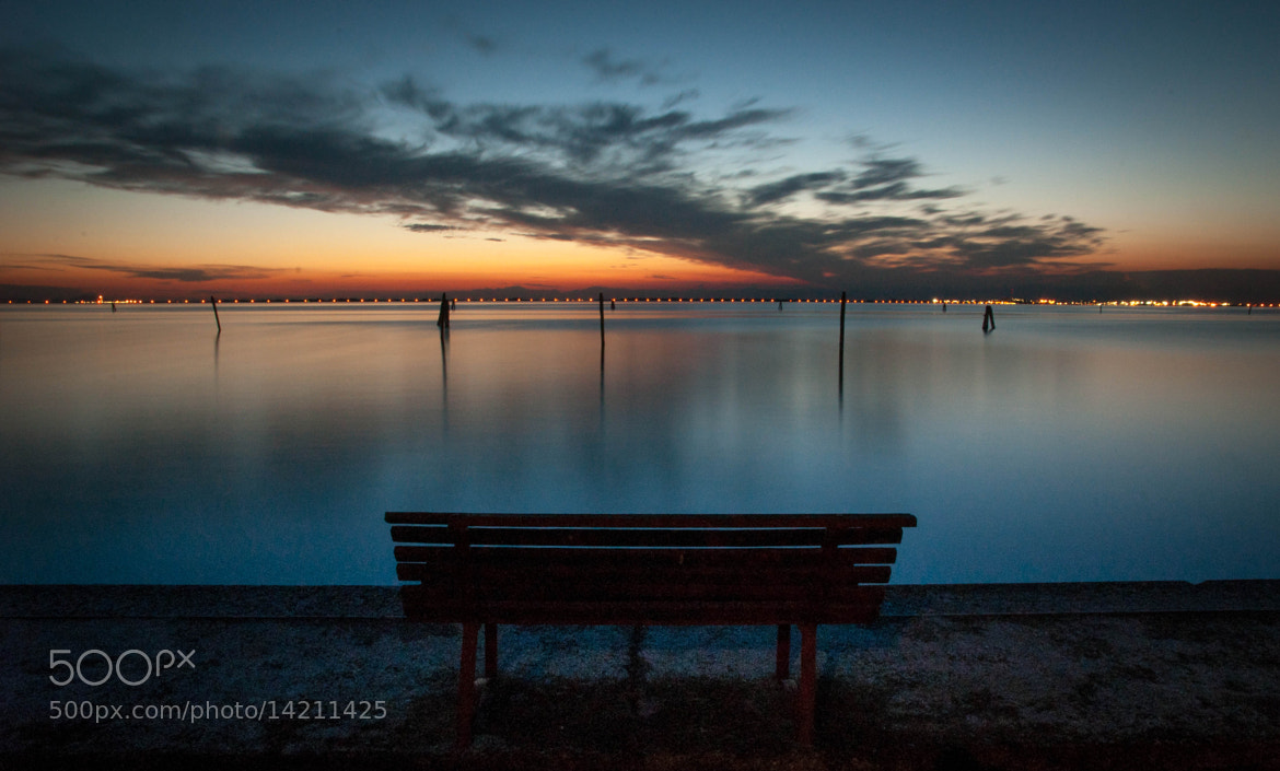 Photograph The bench by Michele Fornaciari on 500px