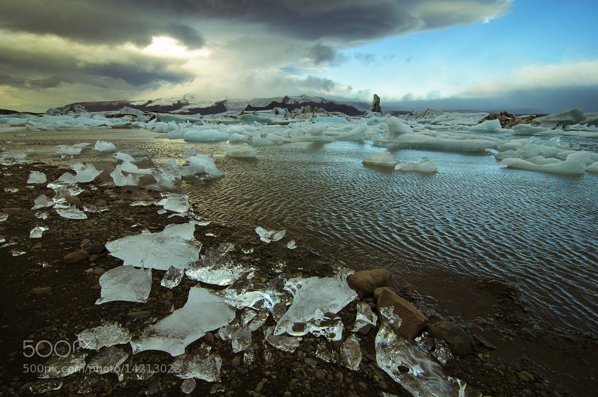 Photograph Jokulsarlon Glacier Lagoon by James Charlick on 500px