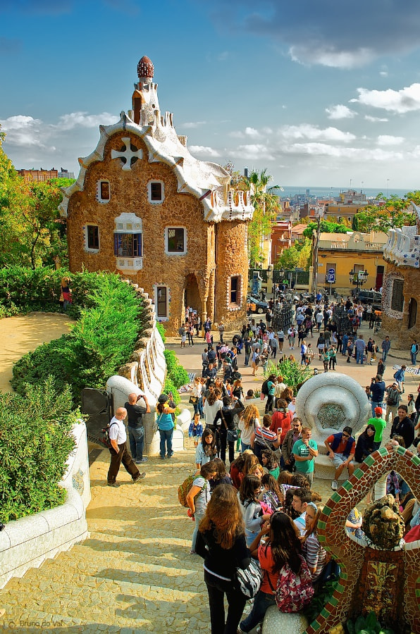 Photograph Park Güell II by Bruno do Val Benes on 500px