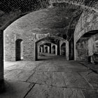 Beneath the vaulted passages of Fort Massachusetts, Mississippi.