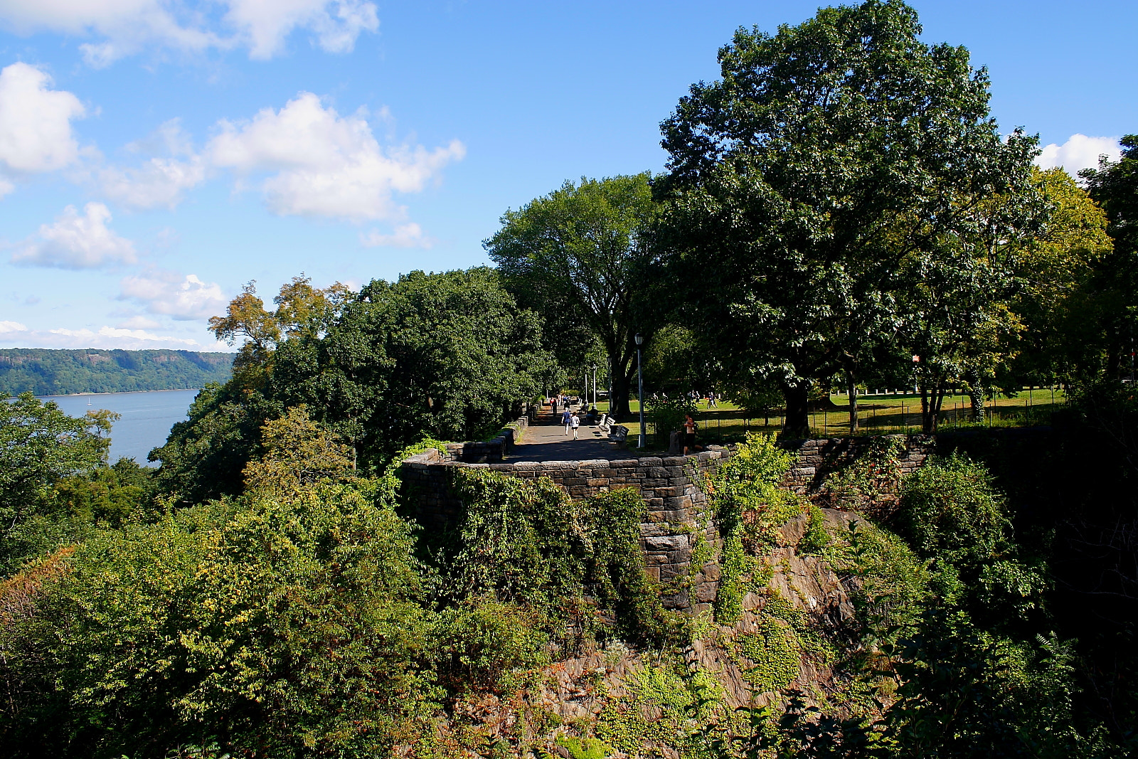 Photograph Fort Tryon Park Ledge by Nicholas Santasier on 500px