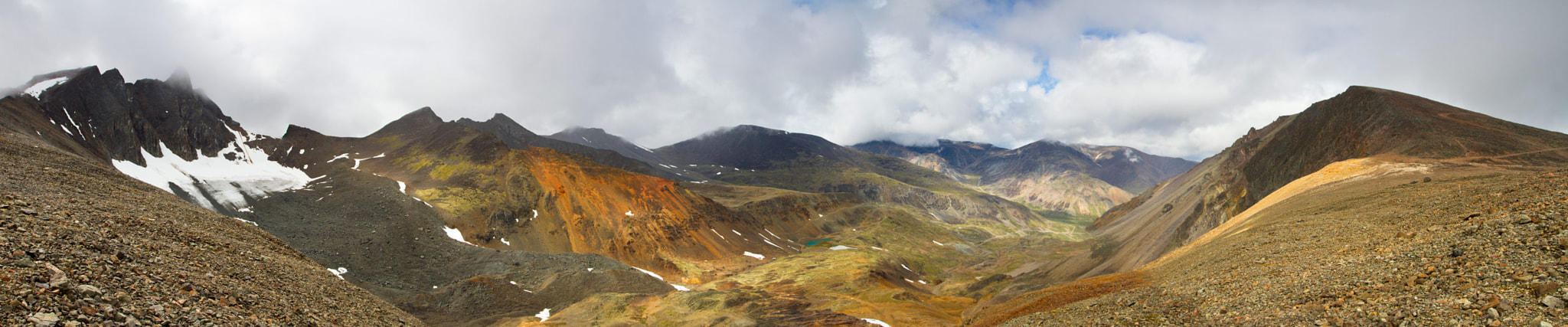 Photograph Mt Skukum Panorama (click to enlarge) by Nicolas Dory on 500px