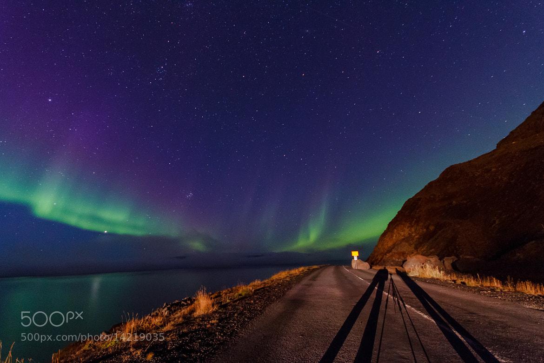 Photograph Aurora Borealis by Reynir Skarsgård on 500px
