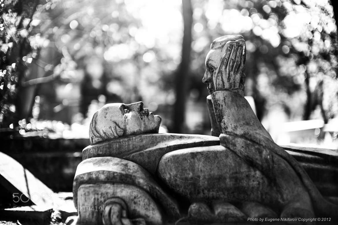 Photograph Père Lachaise Cemetery, Paris, France by Eugene Nikiforov on 500px