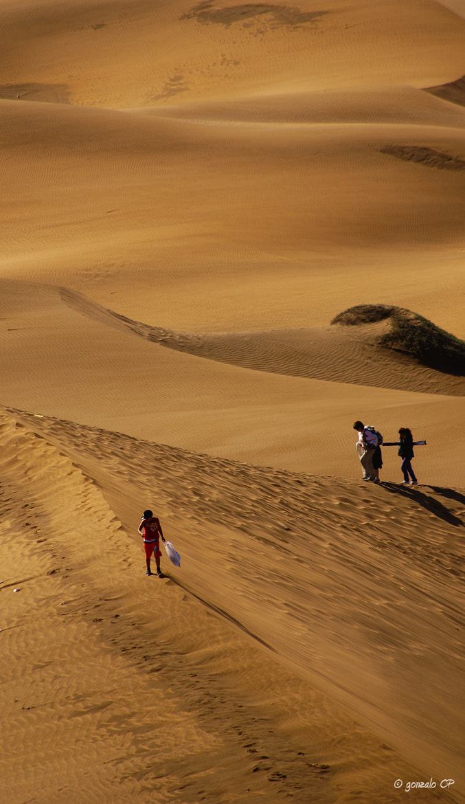 Photograph walkers by Gonzalo Cabezas Prieto on 500px
