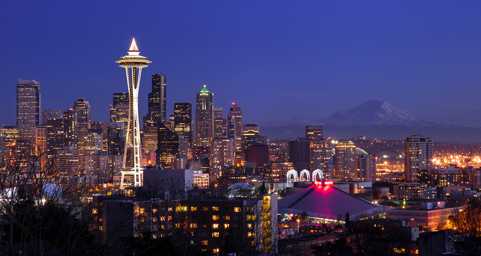 Photograph Seattle at Kerry Park by Jay D. on 500px
