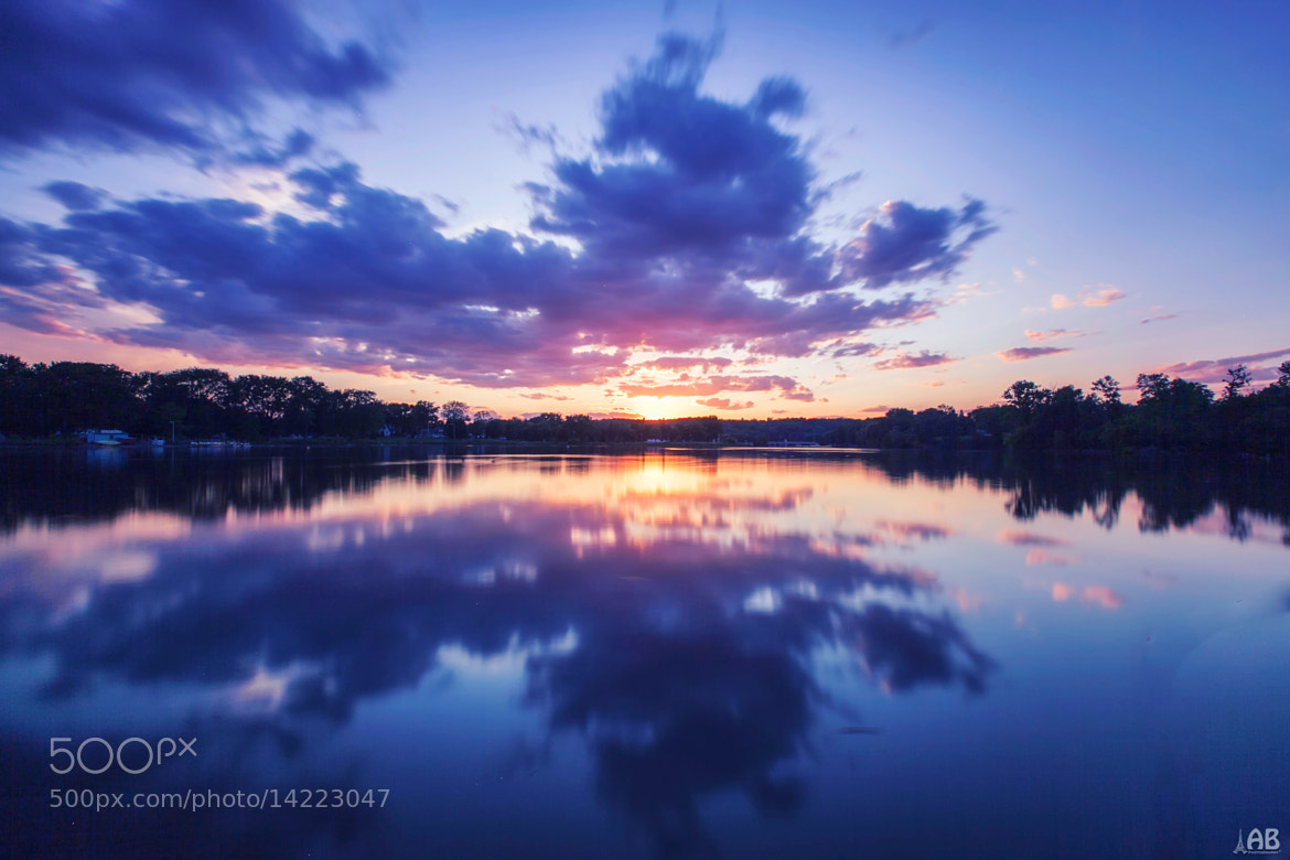 Photograph Sunset by the Lake by Alexandra Petrova on 500px