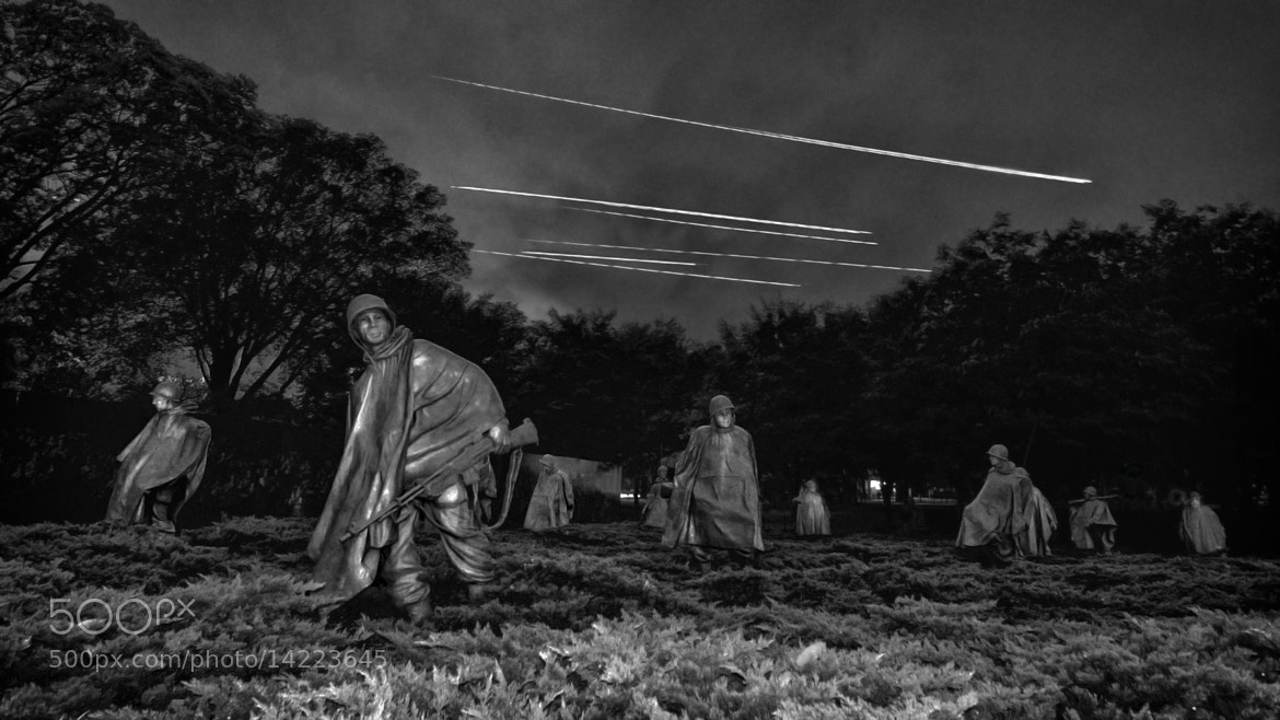 Photograph Korean War Memorial by Jeff Scozzafava on 500px