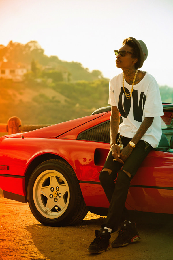 Wiz Khalifa by S  Dot B on 500px.com
