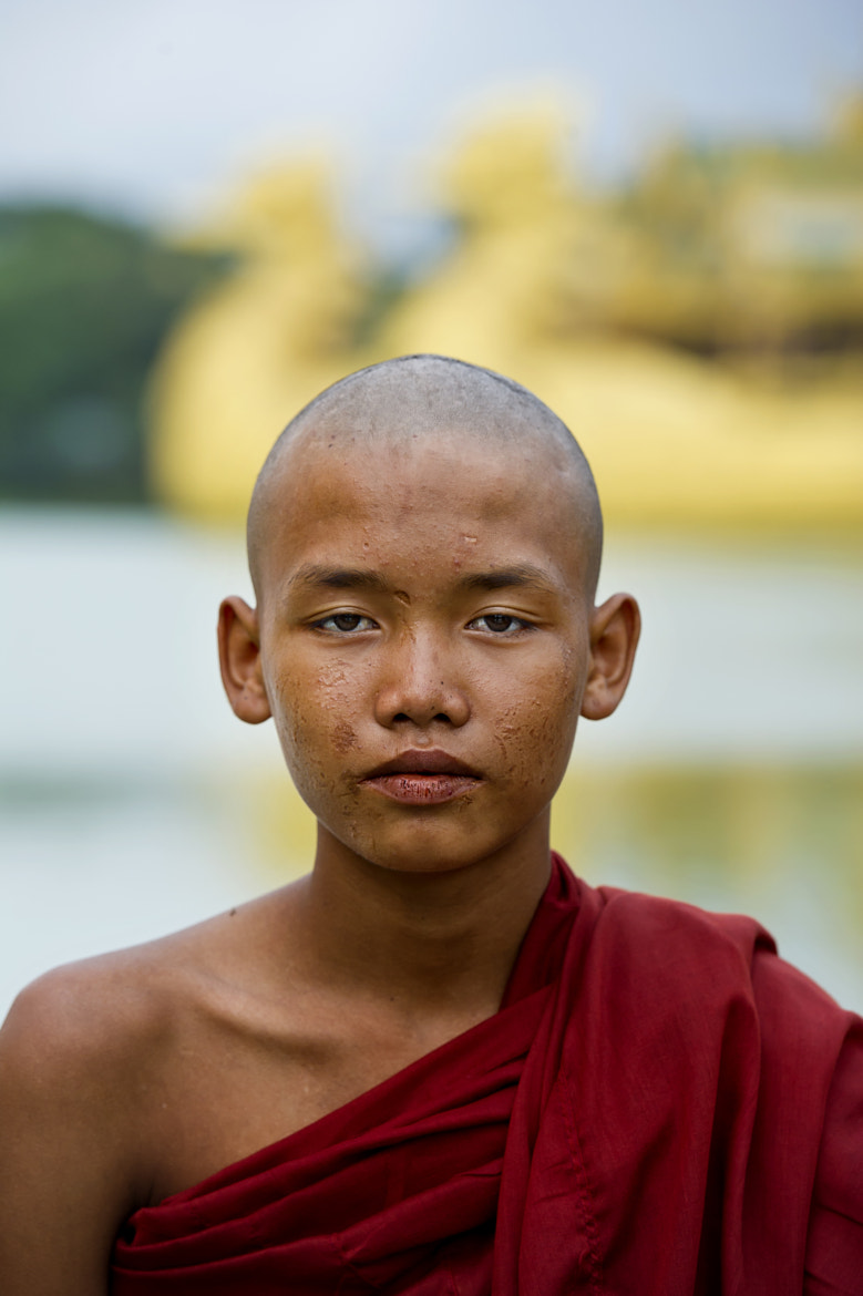 Photograph Young burmese monk by Damien Le Prieur on 500px