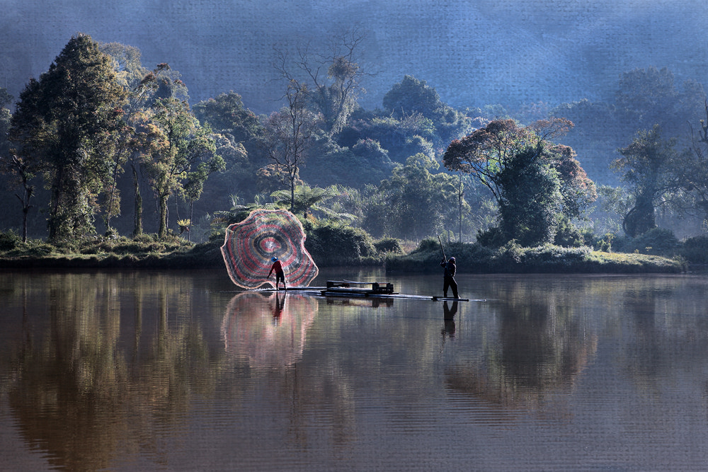 Photograph Situ Gunung and the Fisherman by Erwin Lee on 500px