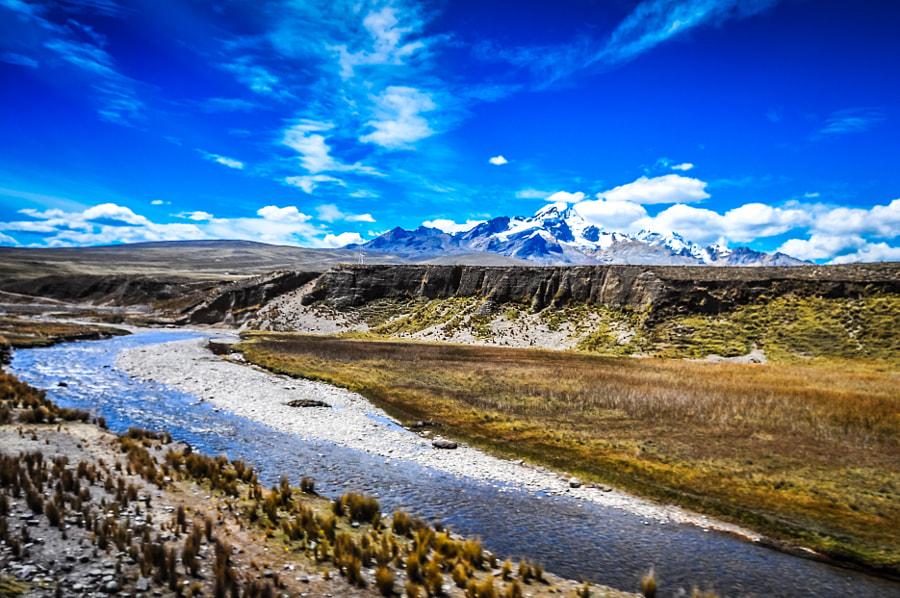 Coach Trip - Ancash Province, Andean Peru