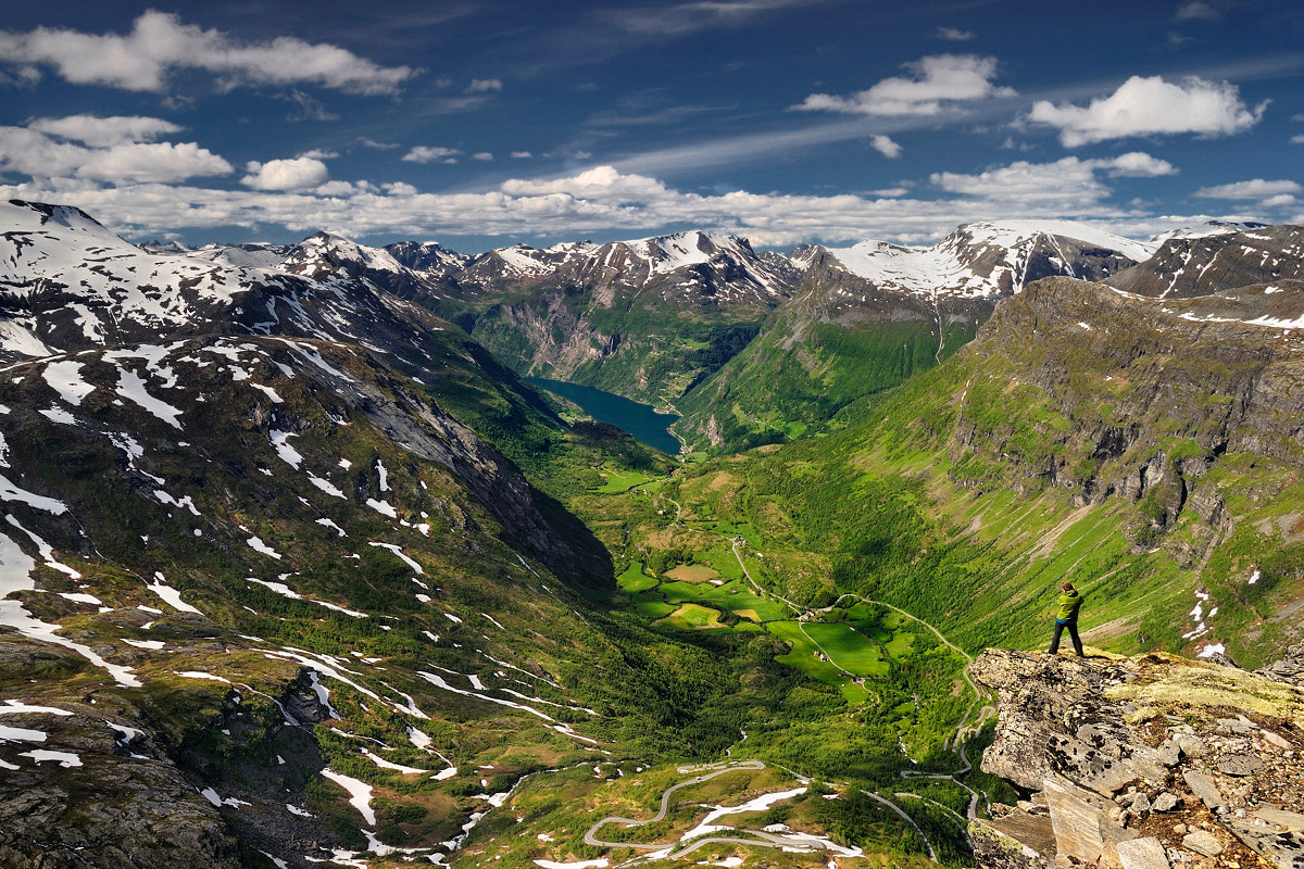 Photograph Views of the Geirangerfjord... by Pawel Kucharski on 500px